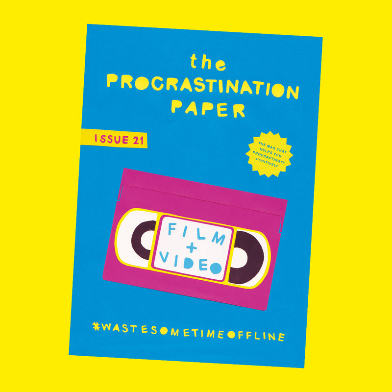 The Procrastination Paper Issue 21: Film & Video (Single Copy)