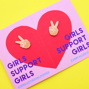 BFF Girl Power Pin Set