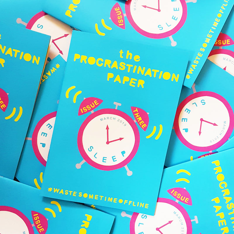 The Procrastination Paper Issue 3 (Single Copy) - £7.00