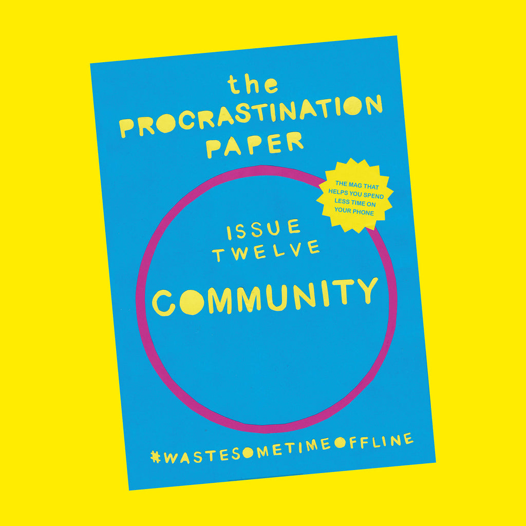 The Procrastination Paper Issue 12: Community (Single Copy)
