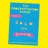 The Procrastination Paper Issue 15: Calm & Relaxation (Single Copy)