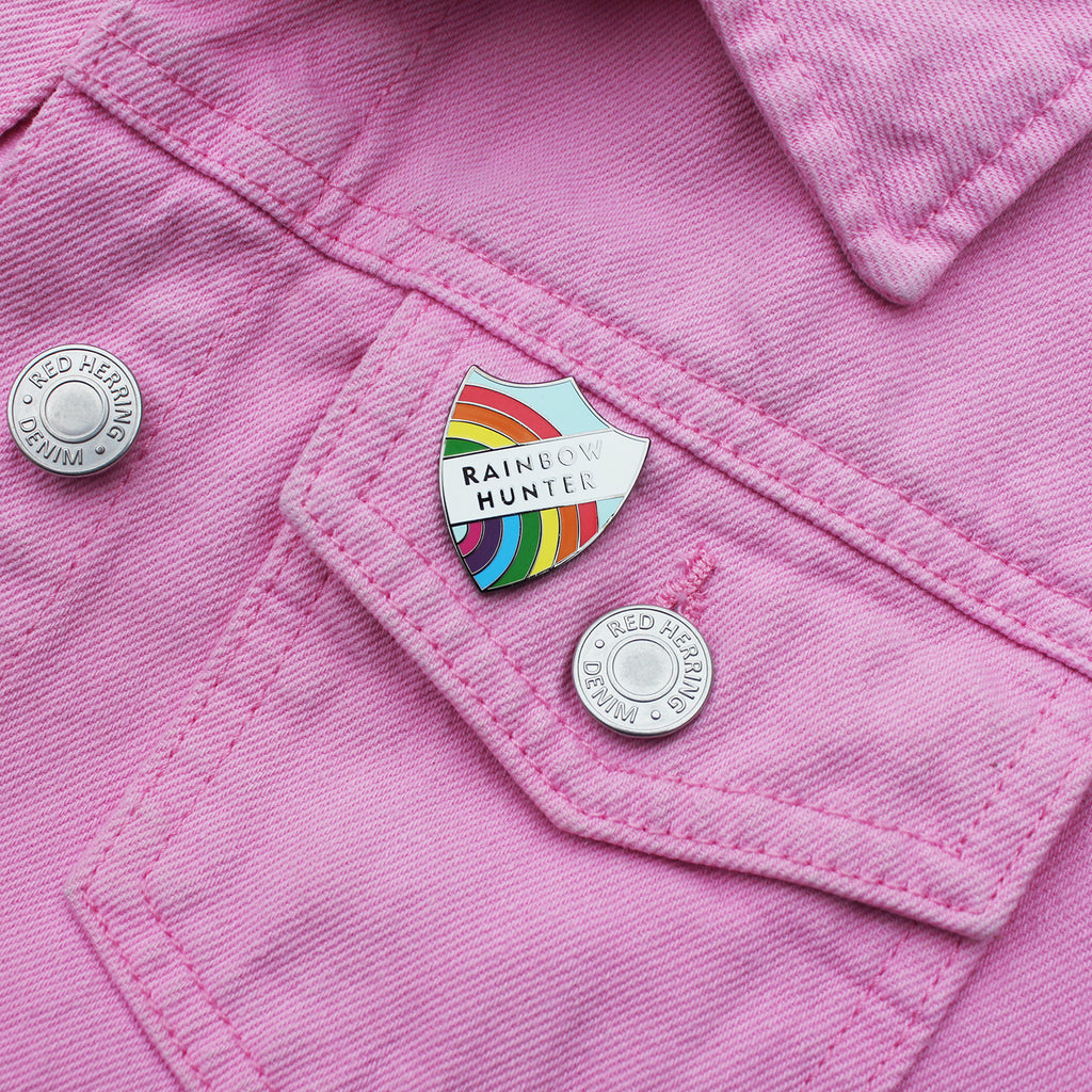 Rainbow Hunter Pin