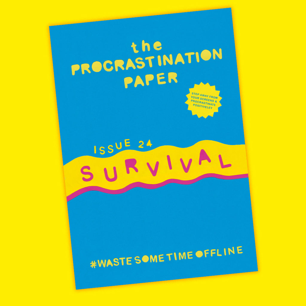 The Procrastination Paper Issue 24: Survival (Single Copy)
