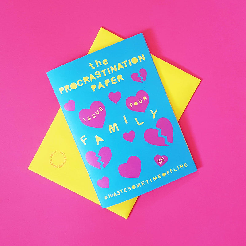The Procrastination Paper Issue 4 (Single Copy) - £7.00