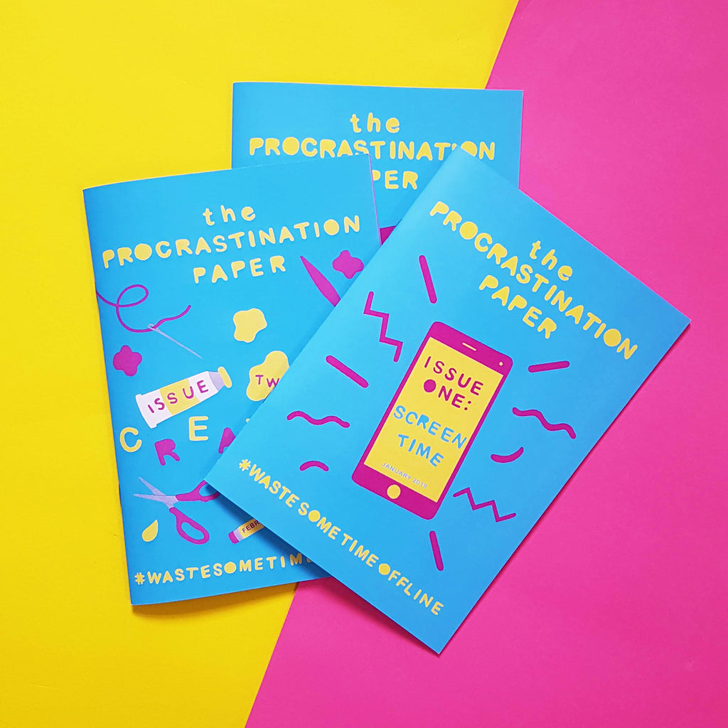 The Procrastination Paper 3 Month Gift Subscription - £17