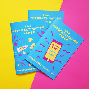 The Procrastination Paper 3 Month Gift Subscription - £18