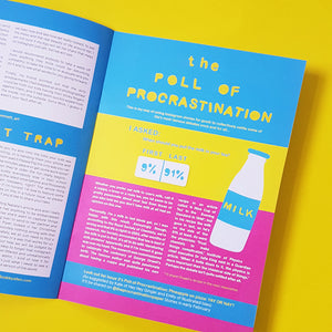 the Procrastination Paper - a mini magazine by Zabby Allen - Issue 1 Poll of Procrastination