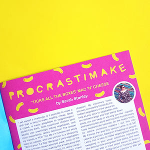 The Procrastination Paper Issue 7: Food (Single Copy)