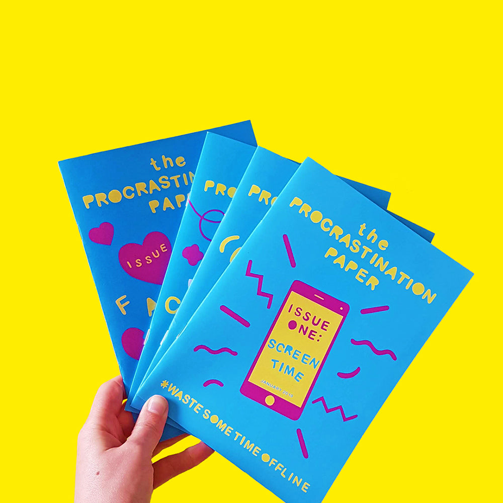 The Procrastination Paper Subscription - £5 monthly