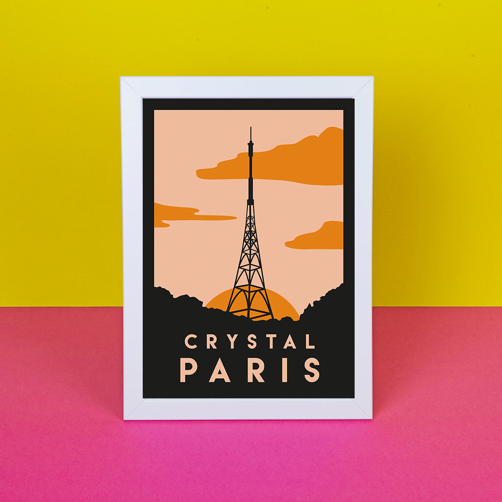 Crystal Paris Print - SALE