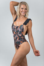Load image into Gallery viewer, Caribbean Print Black - Kiwi Elite Swimwear