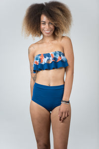 Ocean Blue Top - Kiwi Elite Swimwear