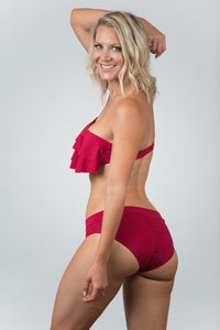 Ocean Wine Bottom - Kiwi Elite Swimwear