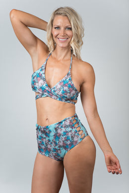 Savanna Light Blue Top - Kiwi Elite Swimwear