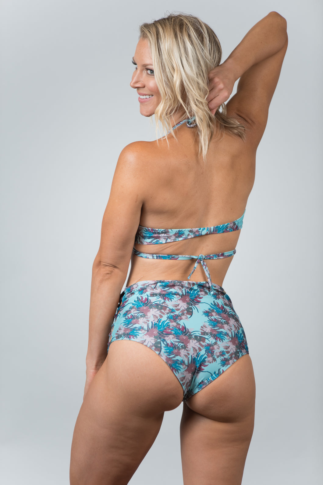 Savanna Light Blue Bottom - Kiwi Elite Swimwear