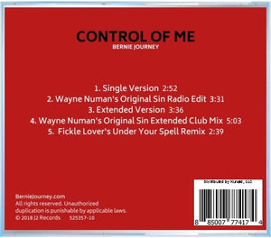 Control Of Me - Remixes (CD)