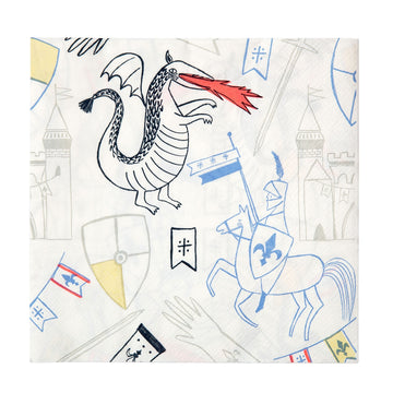 Dragon Knights Napkins / Large