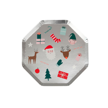 Festive Icons Side Plates
