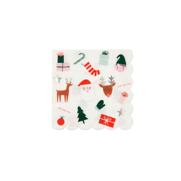 Festive Icons Napkins / Small