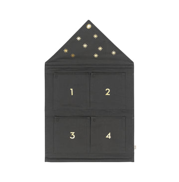 House Advent Calendar / Dark Green