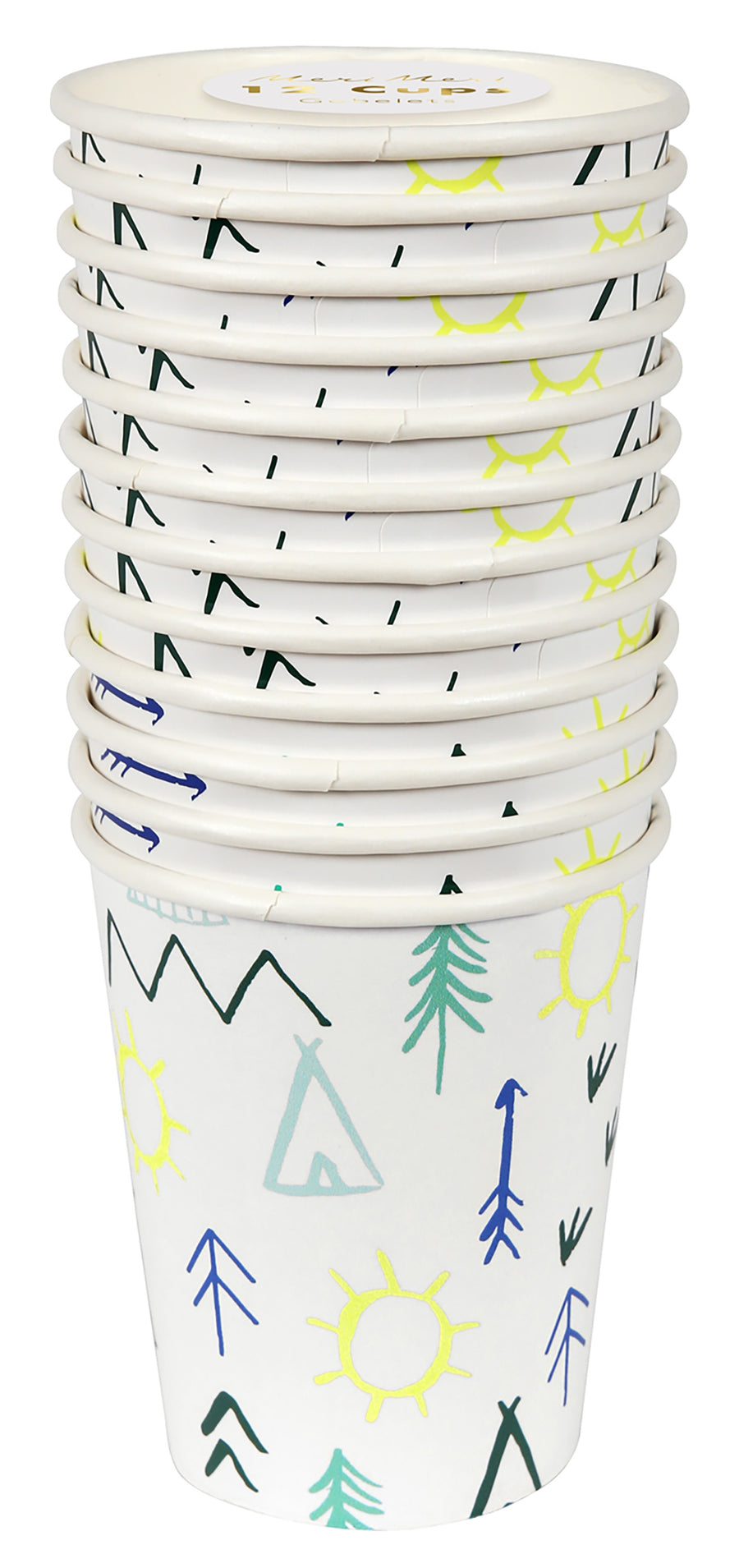 Let's Explore Party Cups / Set of 12