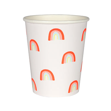 Rainbow Pattern Party Cups