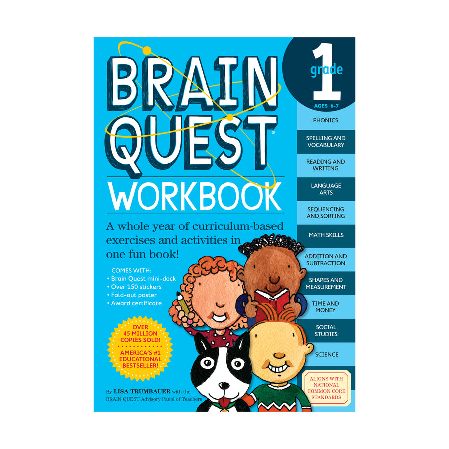 Brain Quest Workbook / Grade 1