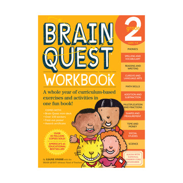 Brain Quest Workbook / Grade 2