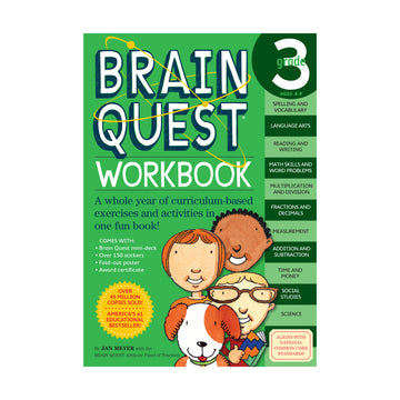 Brain Quest Workbook / Grade 3