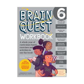 Brain Quest Workbook / Grade 6