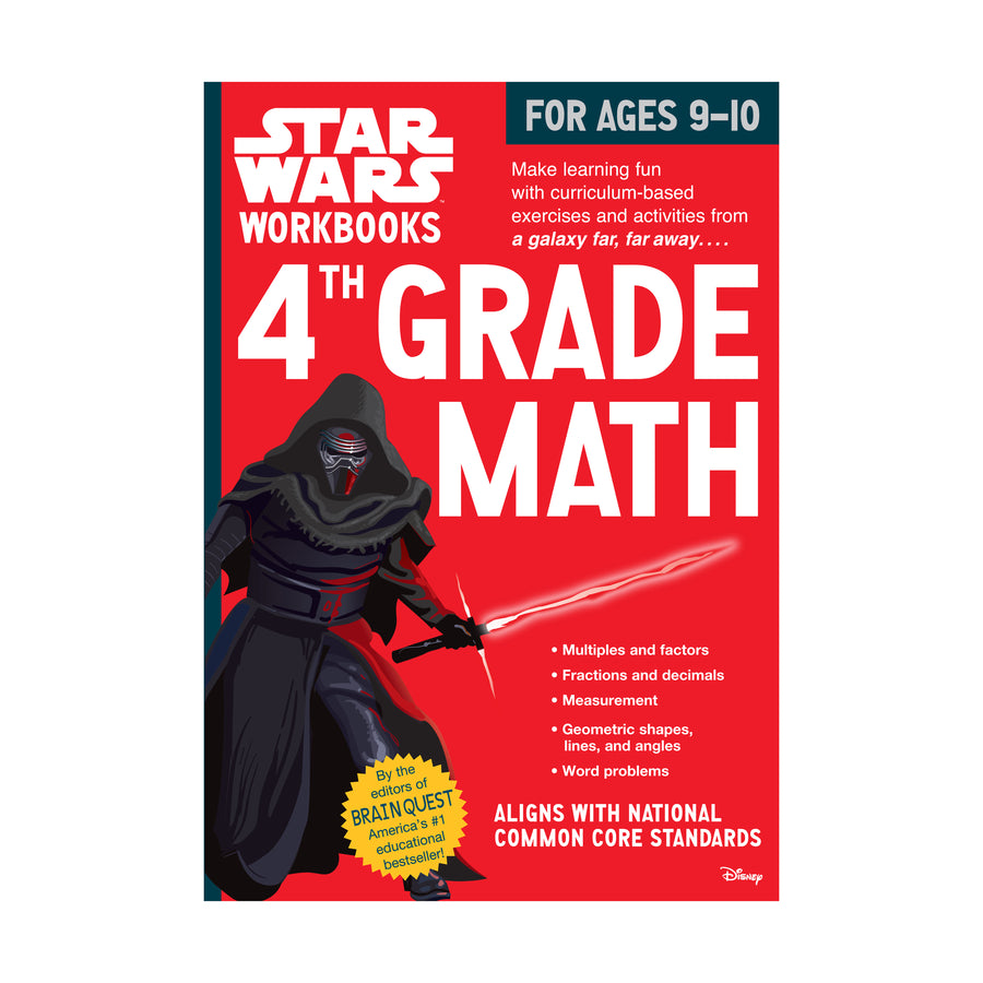 Star Wars Workbook, Grade 4 / Math