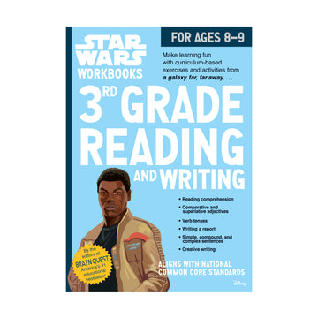 Star Wars Workbook, Grade 3 / Reading + Writing