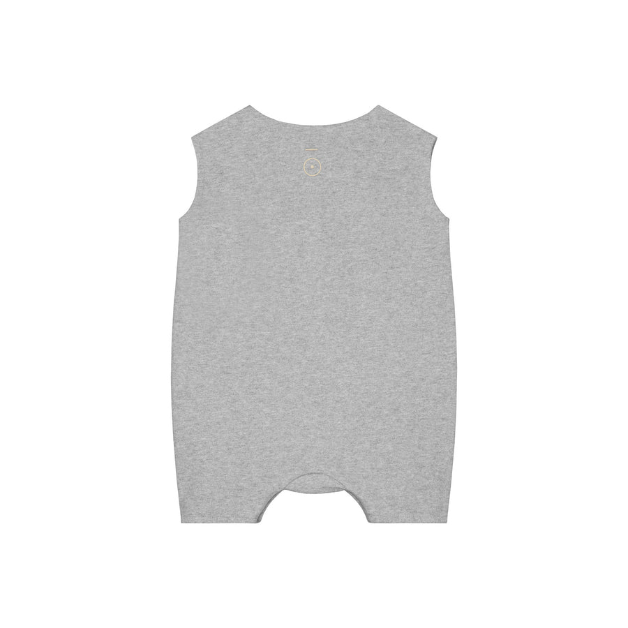Baby Grow with Snaps / Grey Melange