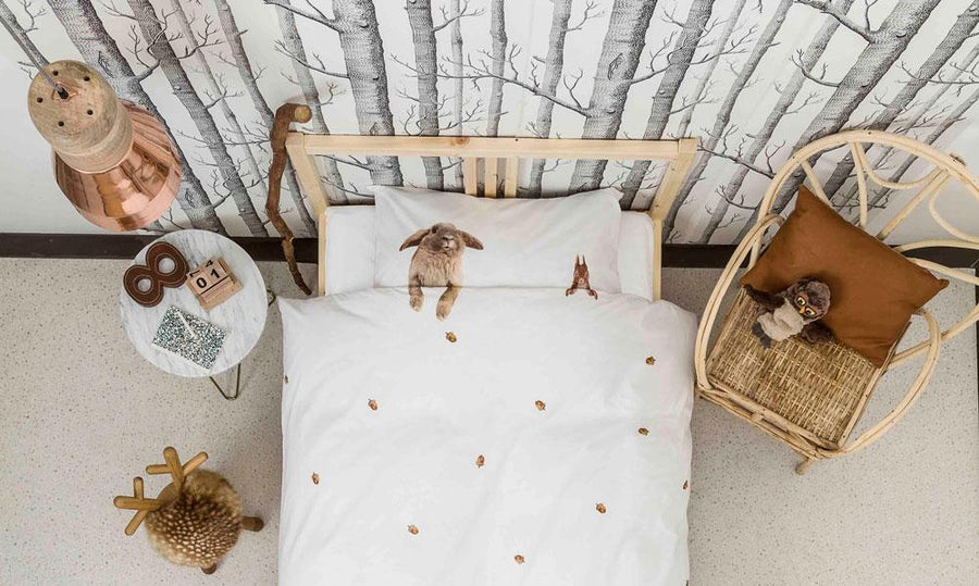 FURRY FRIENDS DUVET COVER SET