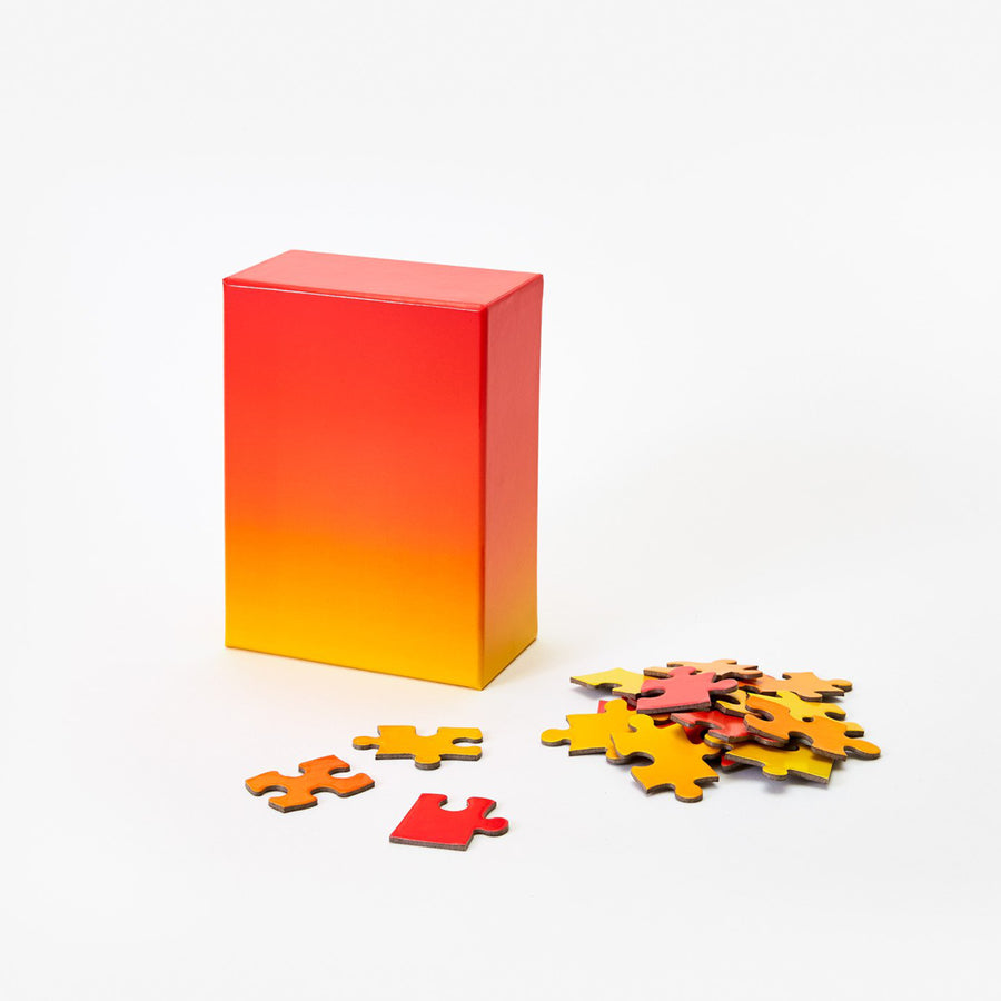 Gradient Puzzle / Red-Yellow