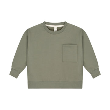 Boxy Sweater / Moss