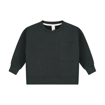 Boxy Sweater / Nearly Black