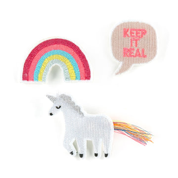 Embroidered Brooches / Unicorn