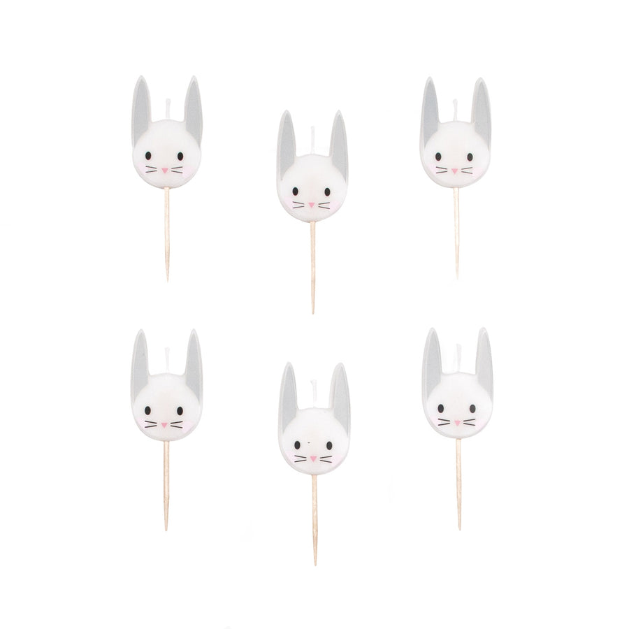 Mini Rabbit Candles / Set of 6
