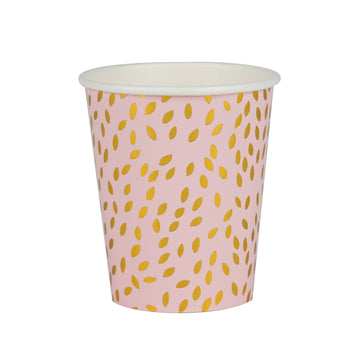Golden Seeds Paper Cups / Set of 8