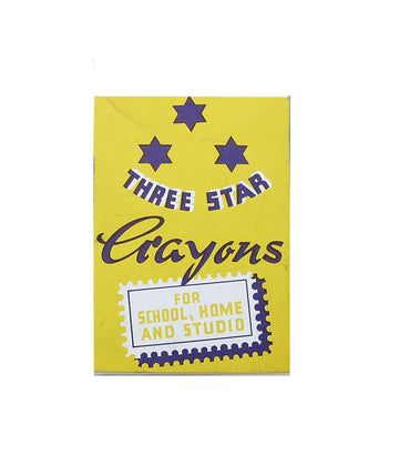 Three Stars Wax Crayons