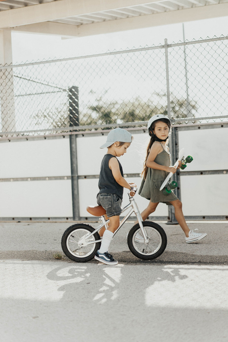 Balance Bike First Go! / Chrome