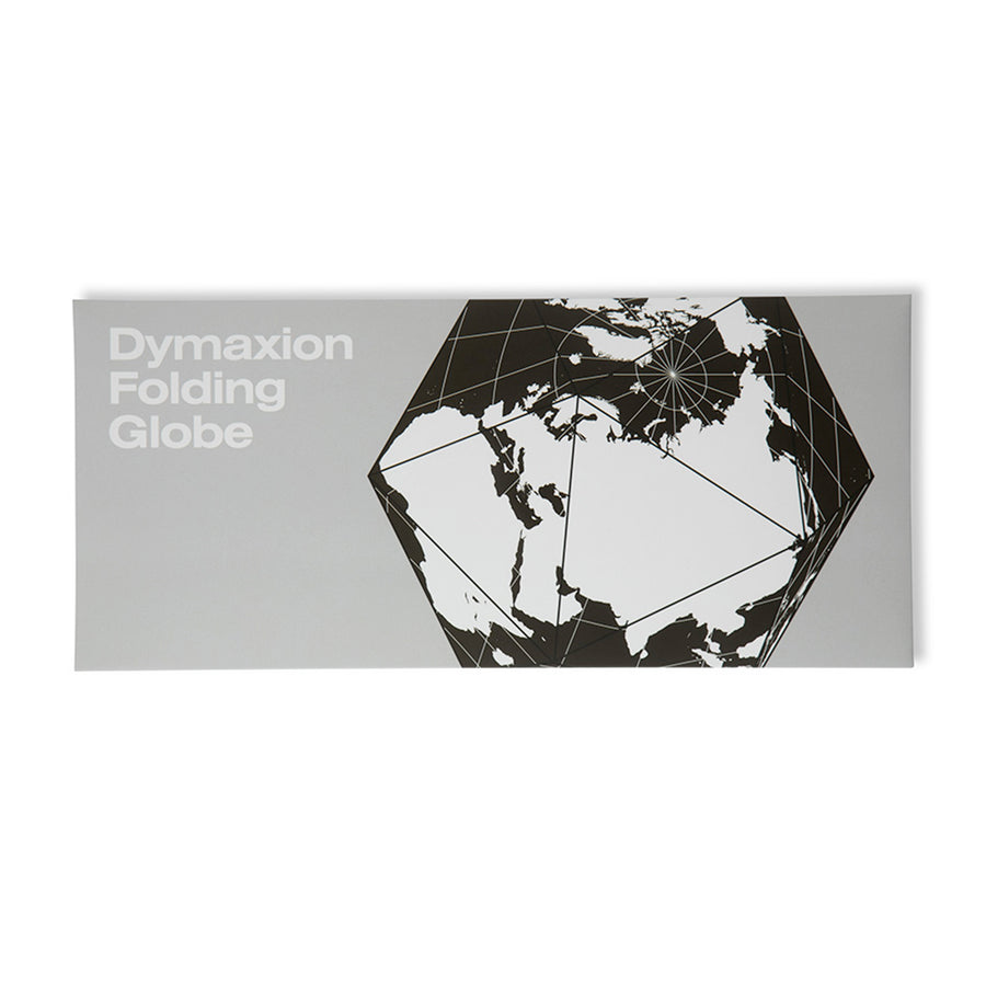 Dymaxion Folding Globe / Black-White