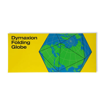 Dymaxion Folding Globe / Blue-Green