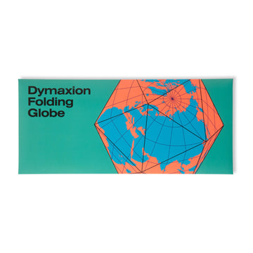 Dymaxion Folding Globe / Blue-Orange