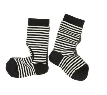 Striped Socks / Black Toe