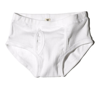 Boys Brief / White