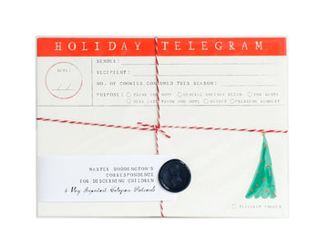 Holiday Telegram Postcards