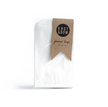 Small Glassine Treat Bags / 25 Pack