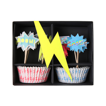 Super Hero Cup Cake Kit